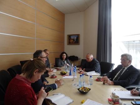 Από τη συνάντηση της αποστολής του Δήμου Λέσβου με το Επιμελητήριο Μόσχας